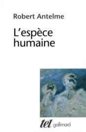 L'espèce humaine - Couverture - Format classique