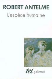L'espèce humaine - Intérieur - Format classique