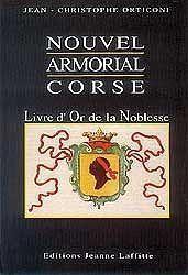 Nouvel Armorial Corse - Couverture - Format classique