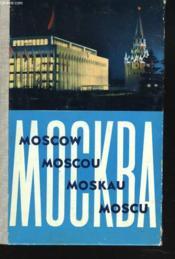 Moscou - Couverture - Format classique