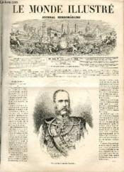 LE MONDE ILLUSTRE N°475 - François-Joseph, empereur d'Autriche. - Couverture - Format classique