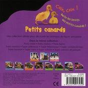 Petits canards - 4ème de couverture - Format classique