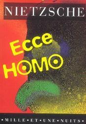 Ecce homo - Intérieur - Format classique