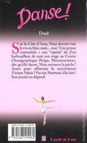 Danse t.23 ; duel - 4ème de couverture - Format classique