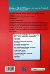 ORL, stomatologie, ophtalmologie, dermatologie - 4ème de couverture - Format classique