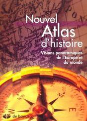 Nouvel atlas d'histoire-géographie - Intérieur - Format classique