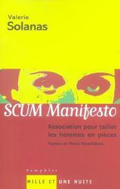 Scum manifesto - Intérieur - Format classique