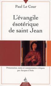 L'évangile ésoterique de saint Jean - Couverture - Format classique