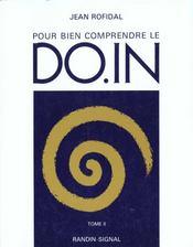 Pour Bien Comprendre Le Do-In Tome 2 - Intérieur - Format classique