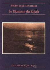 Diamant Du Rajah (Le) - Couverture - Format classique