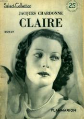 Claire. Collection : Select Collection N° 168 - Couverture - Format classique