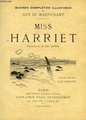 Miss Harriett - Couverture - Format classique