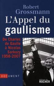 Appel du gaullisme - Intérieur - Format classique