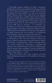 Appel du gaullisme - 4ème de couverture - Format classique