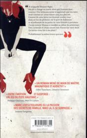 La dernière des Stanfield - 4ème de couverture - Format classique