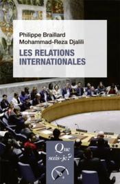 Les relations internationales - Couverture - Format classique