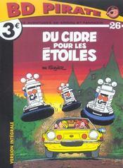 Les aventures de Spirou et Fantasio T.26 ; du cidre pour les étoiles - Intérieur - Format classique