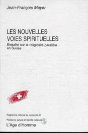 Nouvelles Voies Spirituelles - Couverture - Format classique