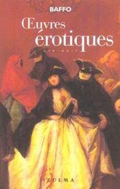 Oeuvres Erotiques Ned - Intérieur - Format classique