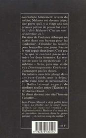 Malaver s'en mêle - 4ème de couverture - Format classique