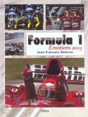 F1 Emotions - Intérieur - Format classique