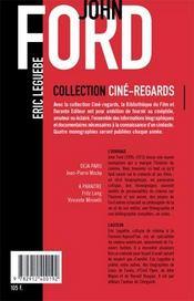 John Ford - 4ème de couverture - Format classique