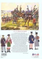 La campagne de France, 1814 - 4ème de couverture - Format classique