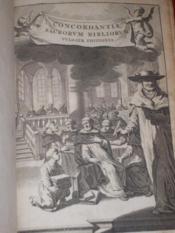 Concordantiae Bibliorum sacrorum vulgatae editionis... - Couverture - Format classique