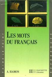 Les mots du français - Couverture - Format classique