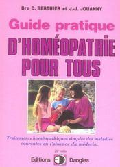 Guide pratique d'homéopathie pour tous - Intérieur - Format classique