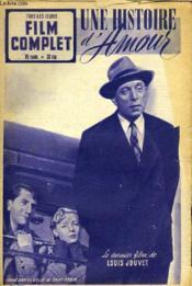 Tous Les Jeudis - Film Complet N° 294 - Une Histoire D'Amour - Couverture - Format classique