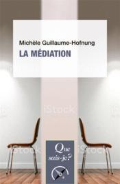 La médiation - Couverture - Format classique