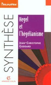 Hegel et l'hegelianisme - Couverture - Format classique