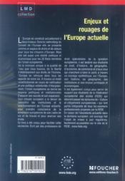 Enjeux Et Rouages De L'Europe Actuelle ; Culture Et Citoyennete Europeennes - 4ème de couverture - Format classique