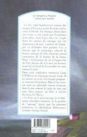 L'âme noire - 4ème de couverture - Format classique