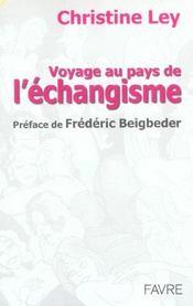 Voyage au pays de l'echangisme - Intérieur - Format classique