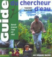 Guide chercheur d'eau - Couverture - Format classique