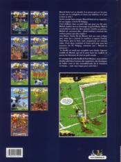 Les Foot Maniacs T.1 ; allez les Bleus ! - 4ème de couverture - Format classique