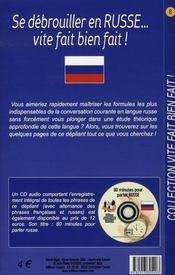 Se débrouiller en russe vite fait bien fait - Intérieur - Format classique