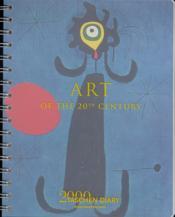 Dr-00 agenda art du xxeme siecle 2000 - Couverture - Format classique