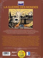 La guerre des mondes - 4ème de couverture - Format classique