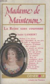 Madame De Maintenon. - Couverture - Format classique