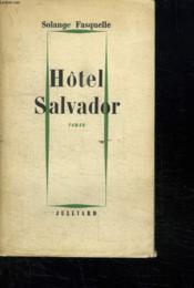 Hotel Salvador. - Couverture - Format classique