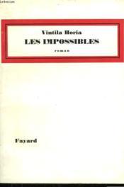 Les Impossibles. - Couverture - Format classique