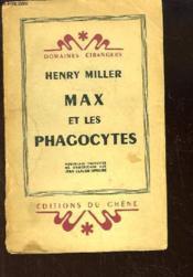 Max et les Phagocytes. - Couverture - Format classique