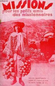 MISSIONS POUR LES PETITS AMIS DES MISSIONNAIRES, 4e ANNEE, N° 11, NOV. 1936 - Couverture - Format classique