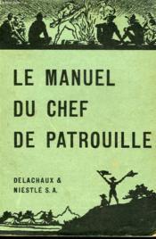 Le Manuel Du Chef De Patrouille - Couverture - Format classique