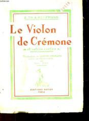 Le Violon De Cremone Et Autres Contes - Couverture - Format classique