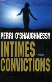 Intimes Convictions. - Couverture - Format classique