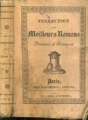 Werther - Tome Second / Collection Des Meilleurs Romans Francais Et Etrangers. - Couverture - Format classique